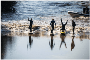 severn bore headstand river tidal wave surf gloucester