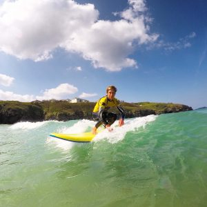 porth beach surf lessons