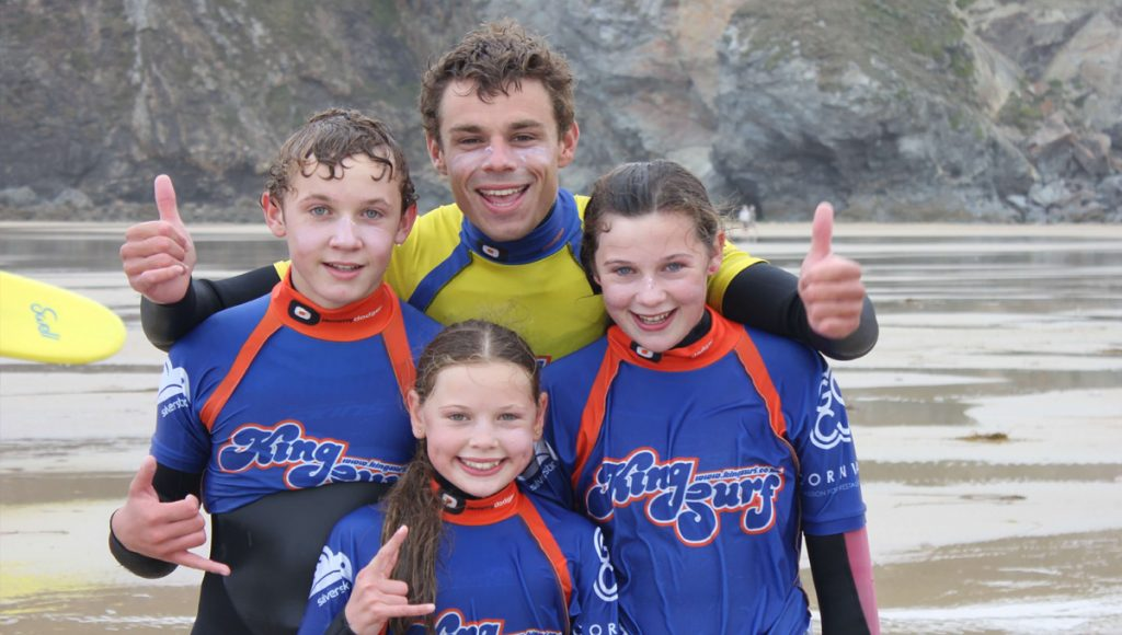 king surf lesson copy 1024x580 - Family Surf Lessons in Cornwall