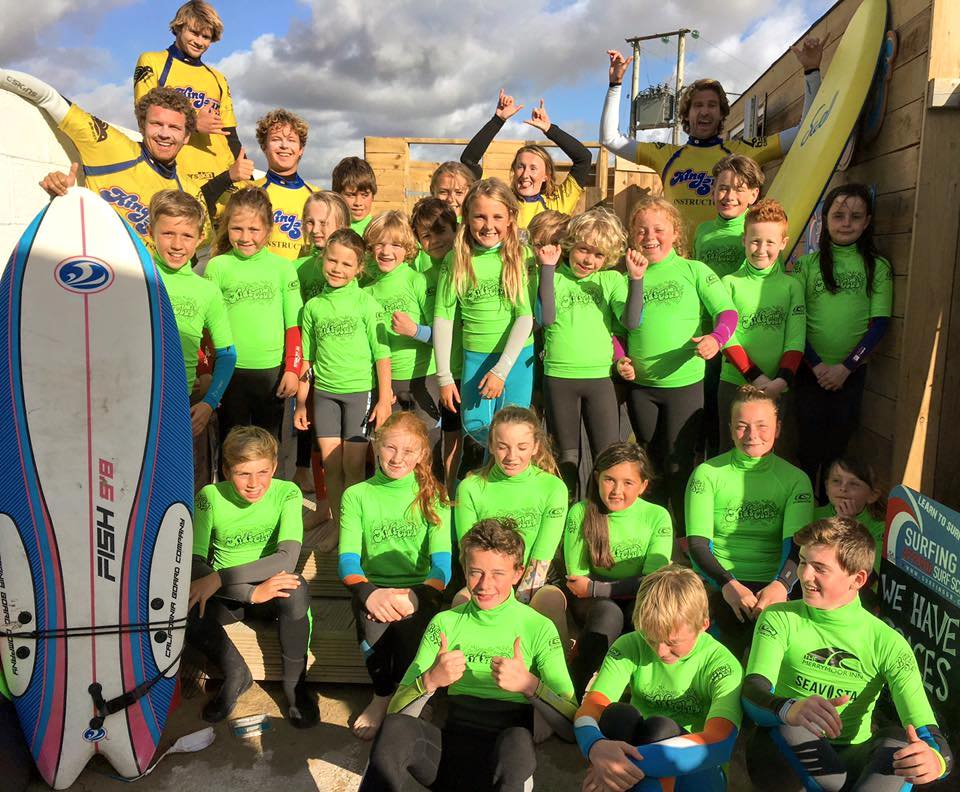 tuesday evening kids surf club