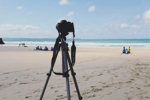 intermediate surfers video analysis at a secret beach intermediate surf camp north cornwall mawgan porth