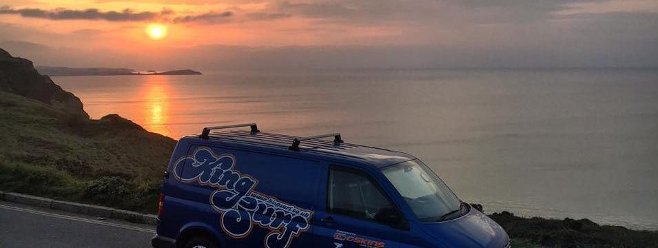 uncrowded surf spots in cornwall watergate sunset road trip in the winter
