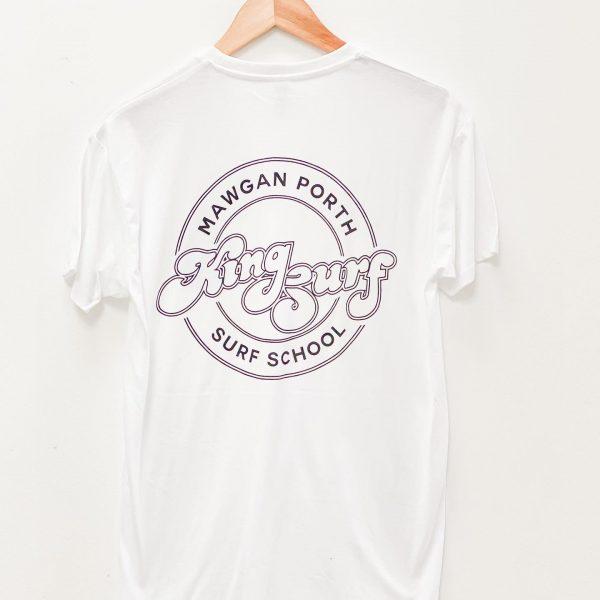 kingsurf T shirt in White
