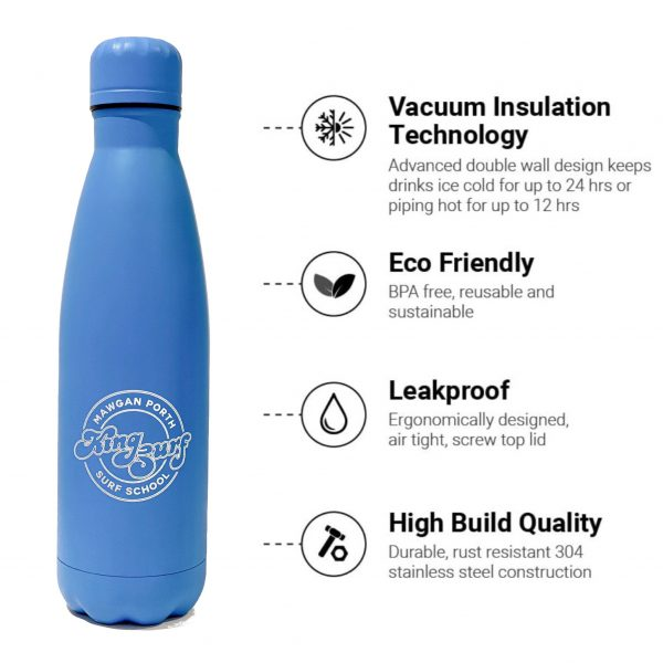 kingsurf water bottle - KINGSURF 750ML WATER BOTTLE